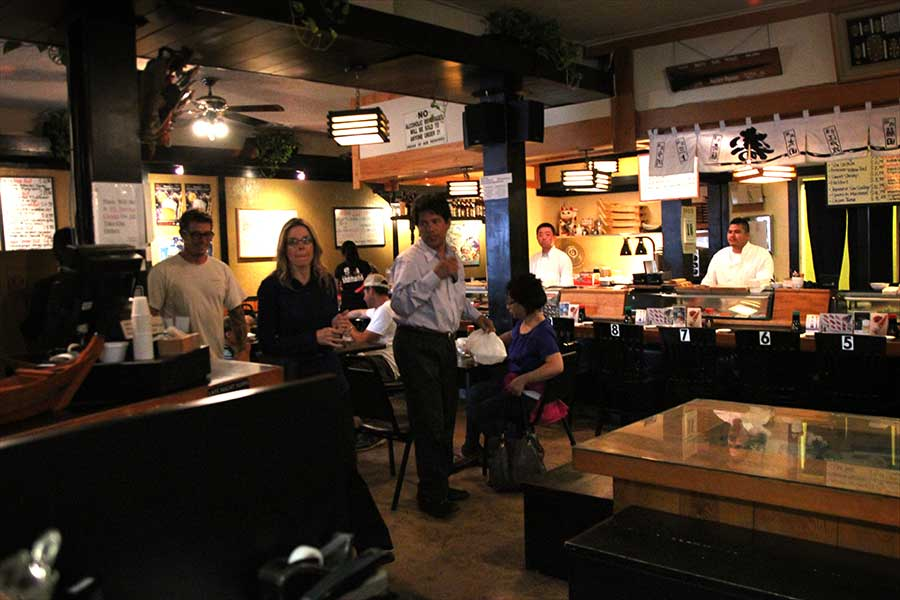 Edomasa Restaurant Interior