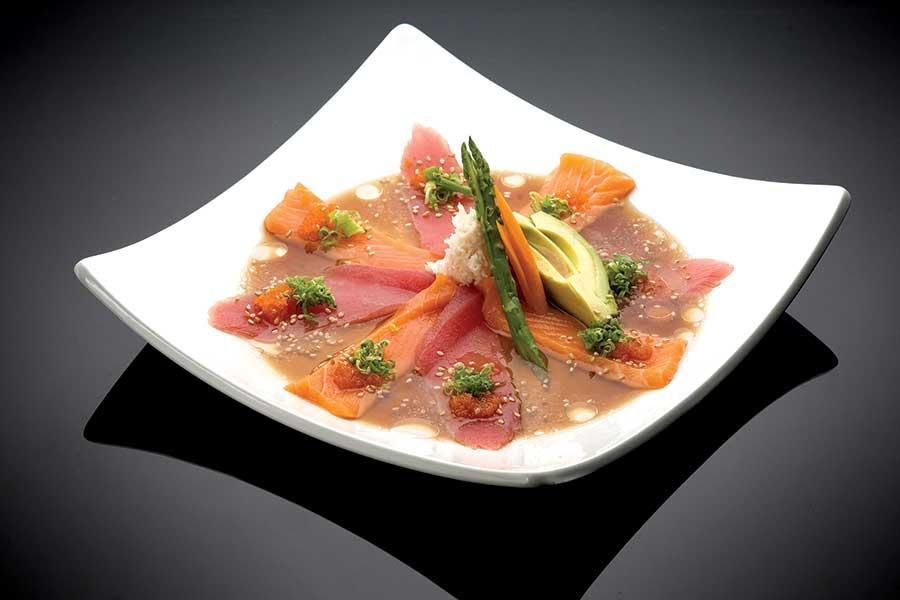 Carpaccio - Tuna or Salmon
