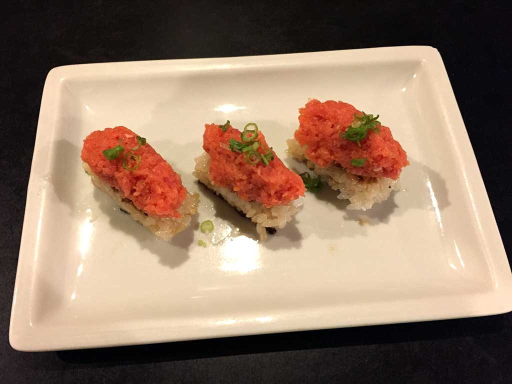 Spicy Tuna with Crispy Rice