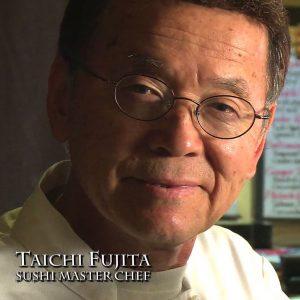 Sushi Master Chef Taichi Fujita